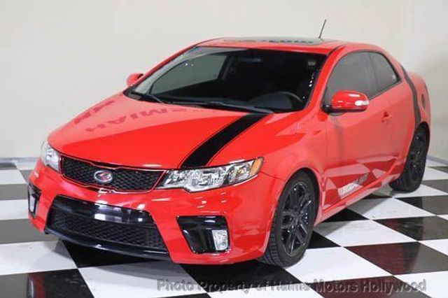 2010 used kia forte koup 2dr cpe auto sx at haims motors serving fort lauderdale hollywood for 2010 kia forte koup interior