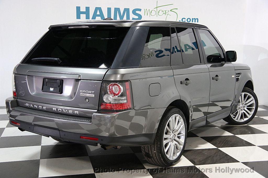 2010 used land rover range rover sport 4wd 4dr hse lux at haims motors serving fort lauderdale. Black Bedroom Furniture Sets. Home Design Ideas