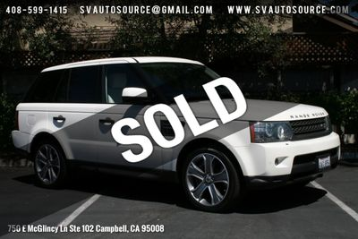 2009 Used Land Rover Range Rover Sport 4WD 4dr SC at Silicon Valley
