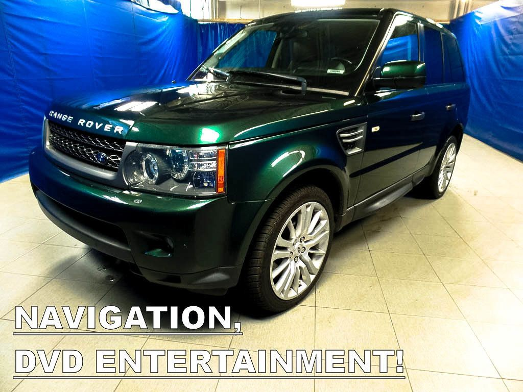 2010 Used Land Rover Range Rover Sport 4wd Hse Luxury