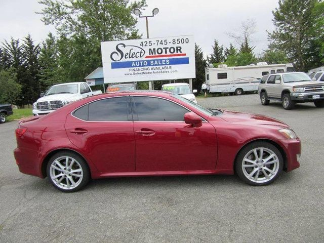 2010 Lexus IS 250 4dr Sport Sedan Automatic RWD Sedan for Sale Lynnwood, WA  - $12,988 - Motorcar com