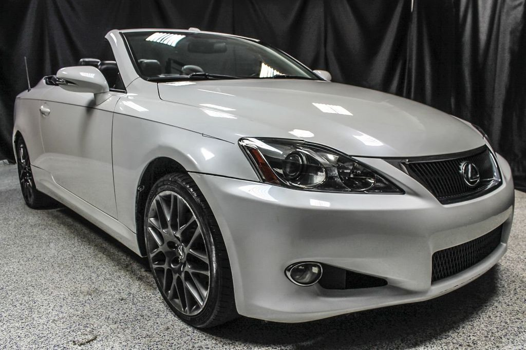 2010 used lexus is 250c 2dr convertible automatic at auto. Black Bedroom Furniture Sets. Home Design Ideas