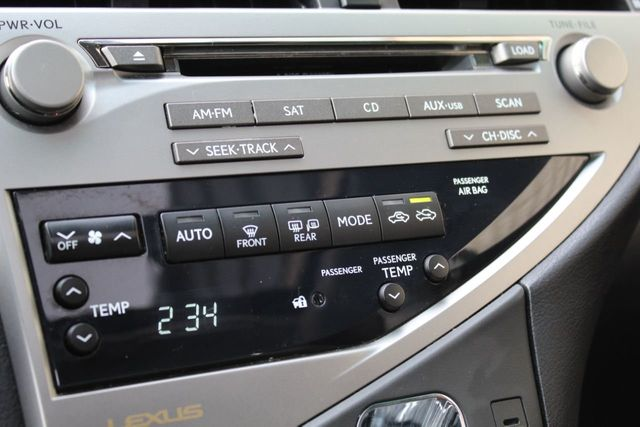 2010 Lexus RX 350 RX350 NAVIGATION DVD PLAYER AWD ONE OWNER  - Click to see full-size photo viewer