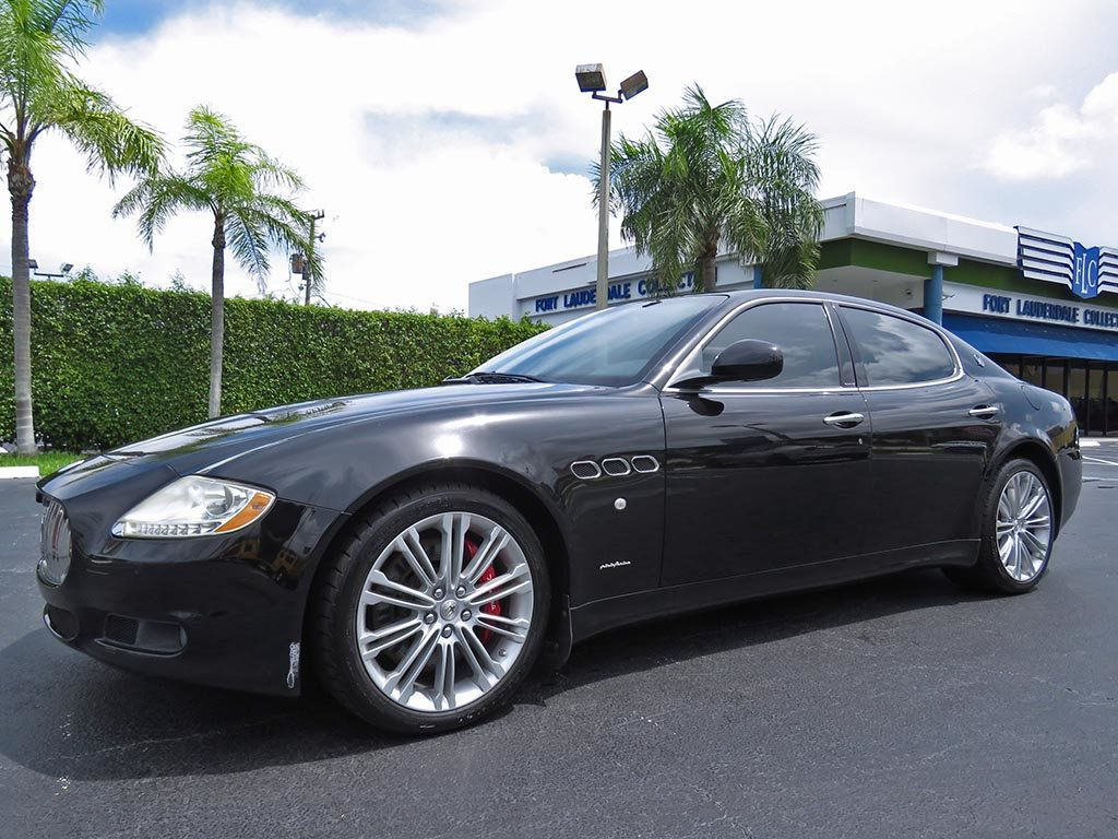 2010 used maserati quattroporte 4dr sdn s at fort lauderdale