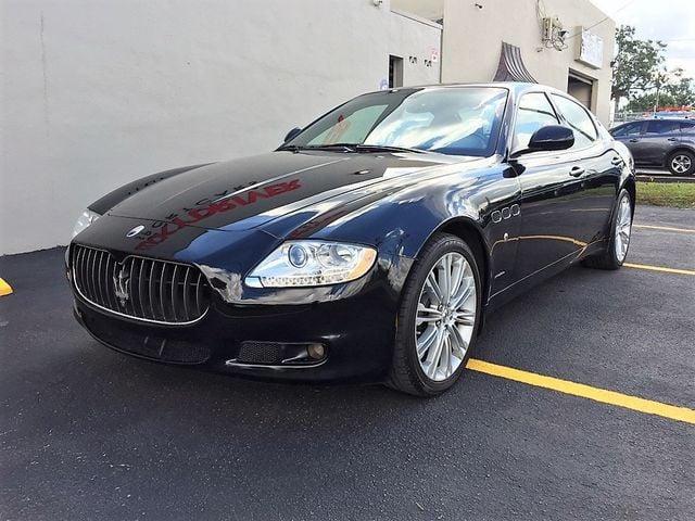 2010 Maserati Quattroporte 4dr Sedan