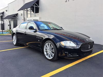 2010 Maserati Quattroporte 4dr Sedan - Click to see full-size photo viewer