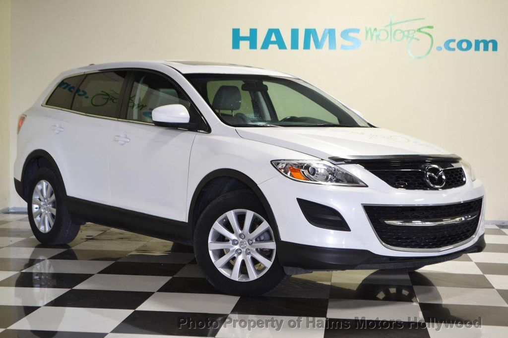 2010 used mazda cx 9 awd 4dr sport at haims motors serving fort lauderdale hollywood miami fl. Black Bedroom Furniture Sets. Home Design Ideas