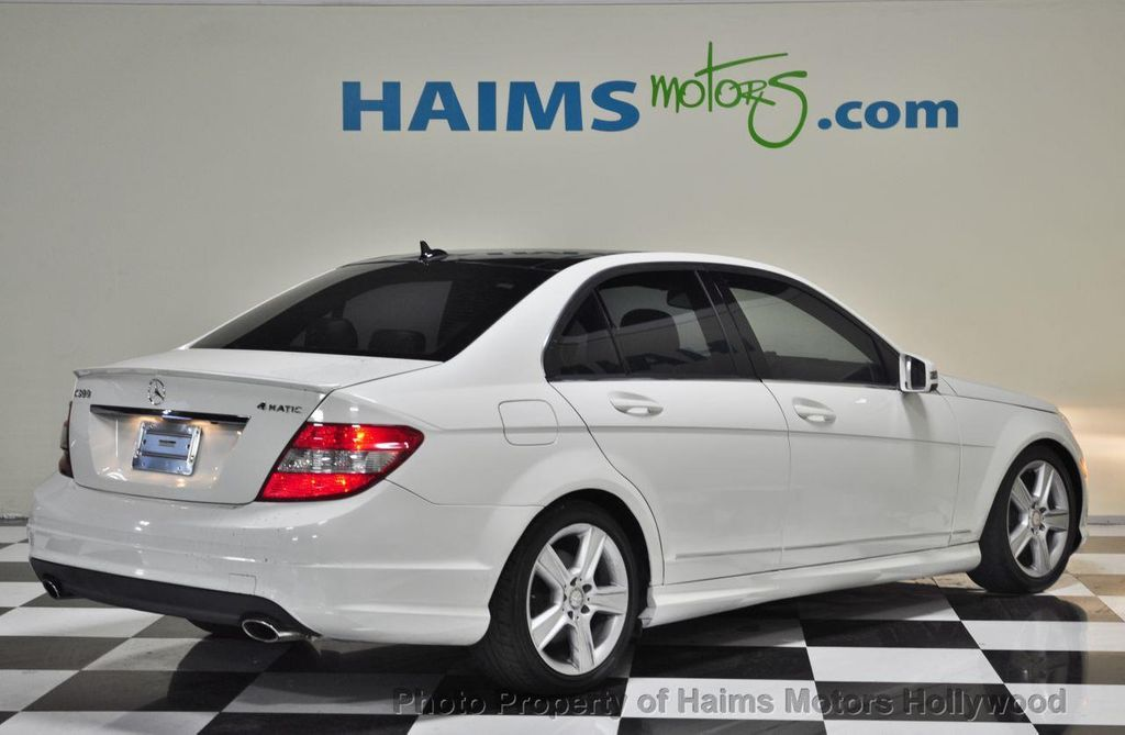 2010 used mercedes benz c class 4dr sedan c300 sport 4matic at haims motors serving fort. Black Bedroom Furniture Sets. Home Design Ideas