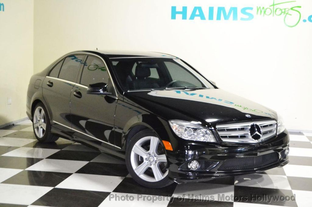 2010 used mercedes benz c class 4dr sedan c300 sport rwd for Used mercedes benz c300