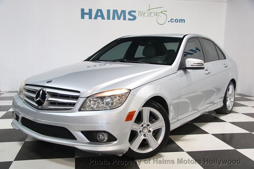 2010 used mercedes benz c class c300 at haims motors for Miami mercedes benz dealers