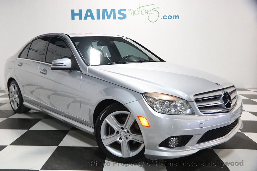 2010 used mercedes benz c class c300 at haims motors for How much is service b for mercedes benz