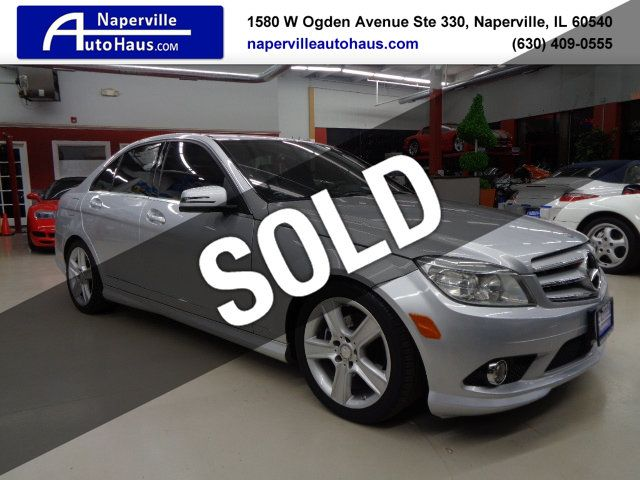Mercedes Benz Used >> 2010 Used Mercedes Benz C Class C 300 4dr Sedan C300 Sport 4matic At Naperville Auto Haus Il Iid 18603954
