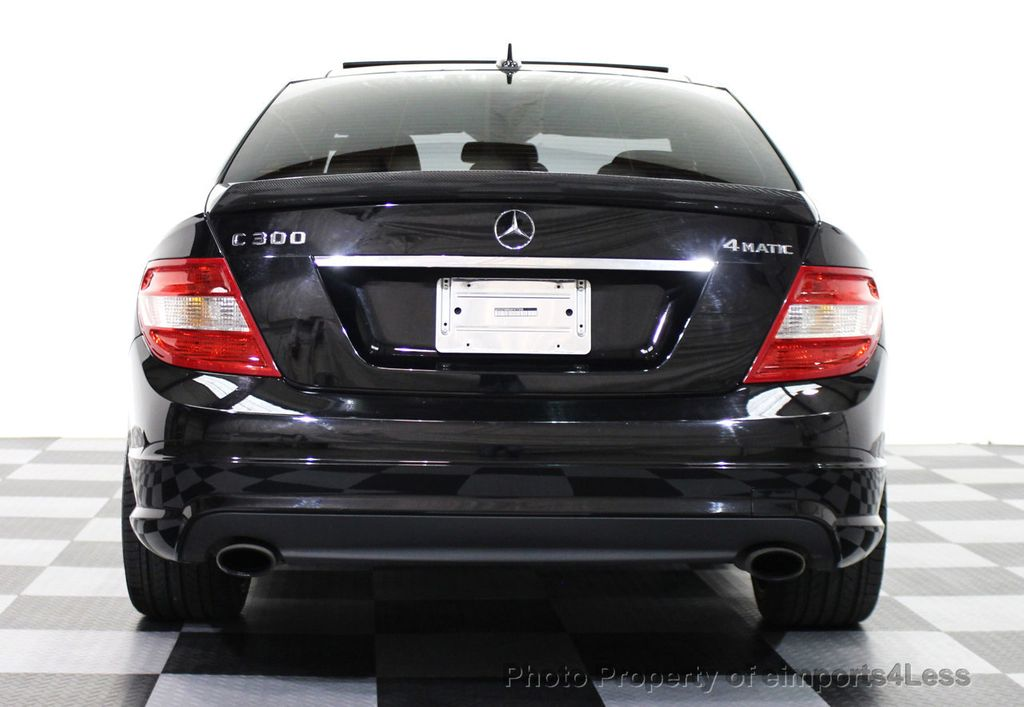 2010 Used MercedesBenz CClass C300 4Matic Sport Package AWD
