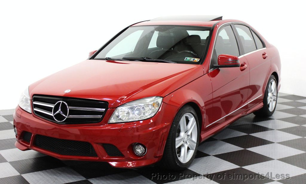 2010 used mercedes benz c class certified c300 4matic for Mercedes benz c300 sport 4matic