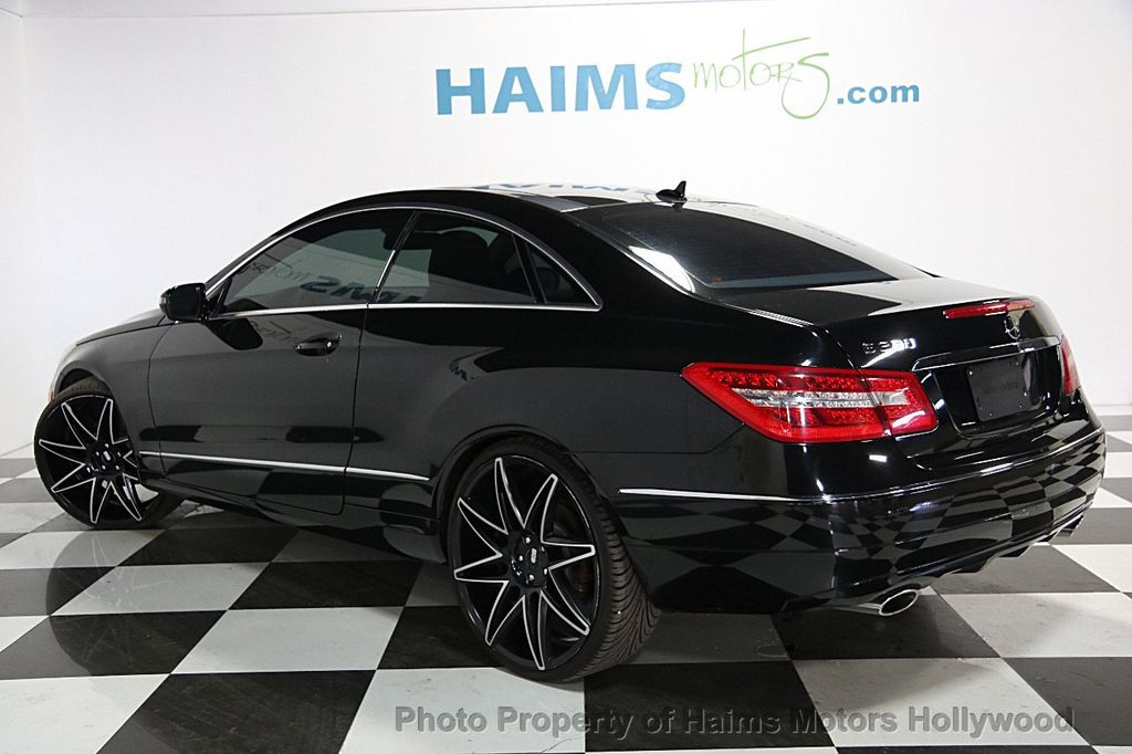 2010 used mercedes benz e class 2dr coupe e350 rwd at haims motors serving fort lauderdale. Black Bedroom Furniture Sets. Home Design Ideas