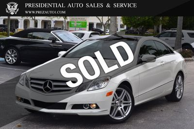 2012 Used Mercedes-Benz E-Class 2dr Coupe E 550 RWD at