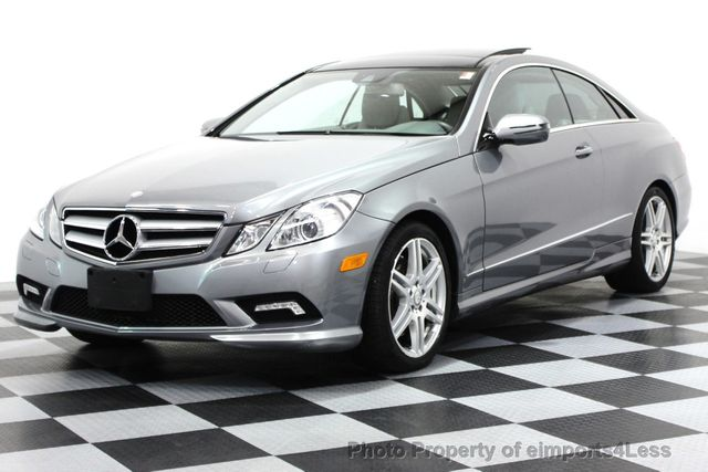 2010 used mercedes benz certified e550 amg sport coupe p2 navigation at eimports4less serving. Black Bedroom Furniture Sets. Home Design Ideas