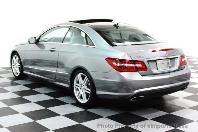 2010 Mercedes Benz E Class CERTIFIED E550 AMG SPORT COUPE P2 / NAVIGATION