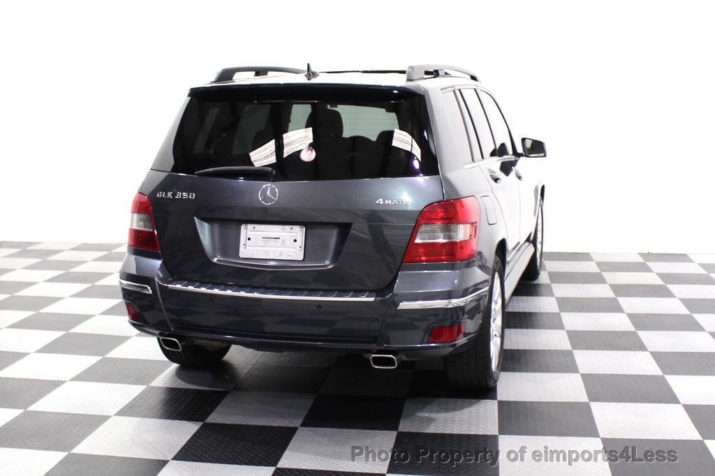 2010 Mercedes-Benz GLK CERTIFIED GLK350 4MATIC AWD  - 18032212 - 46