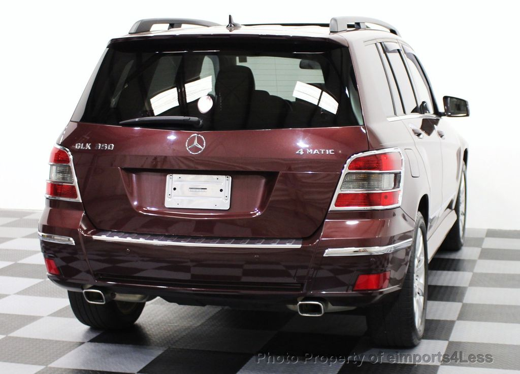 2010 used mercedes benz glk certified glk350 4matic awd for Mercedes benz suv used for sale