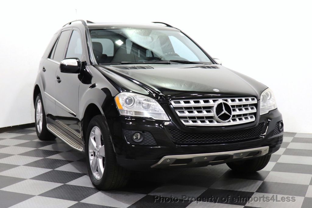 2010 Mercedes-Benz M-Class CERTIFIED ML350 4MATIC AWD NAV CAM MOON ROOF  - 18660585 - 11