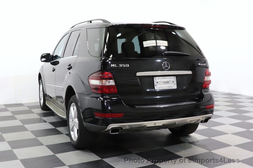 2010 Mercedes-Benz M-Class CERTIFIED ML350 4MATIC AWD NAV CAM MOON ROOF  - 18660585 - 12