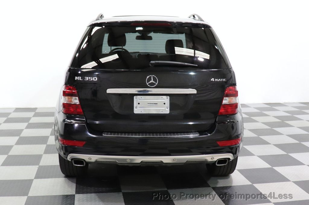 2010 Mercedes-Benz M-Class CERTIFIED ML350 4MATIC AWD NAV CAM MOON ROOF  - 18660585 - 13