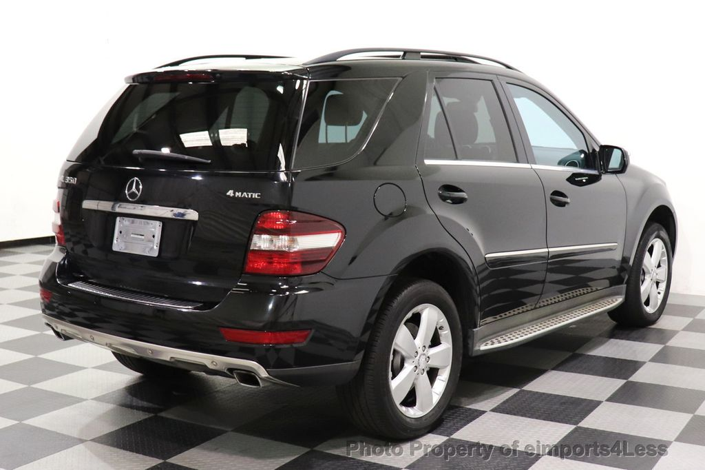 2010 Mercedes-Benz M-Class CERTIFIED ML350 4MATIC AWD NAV CAM MOON ROOF  - 18660585 - 14