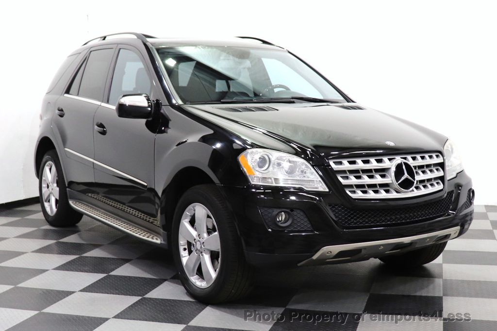 2010 Mercedes-Benz M-Class CERTIFIED ML350 4MATIC AWD NAV CAM MOON ROOF  - 18660585 - 1