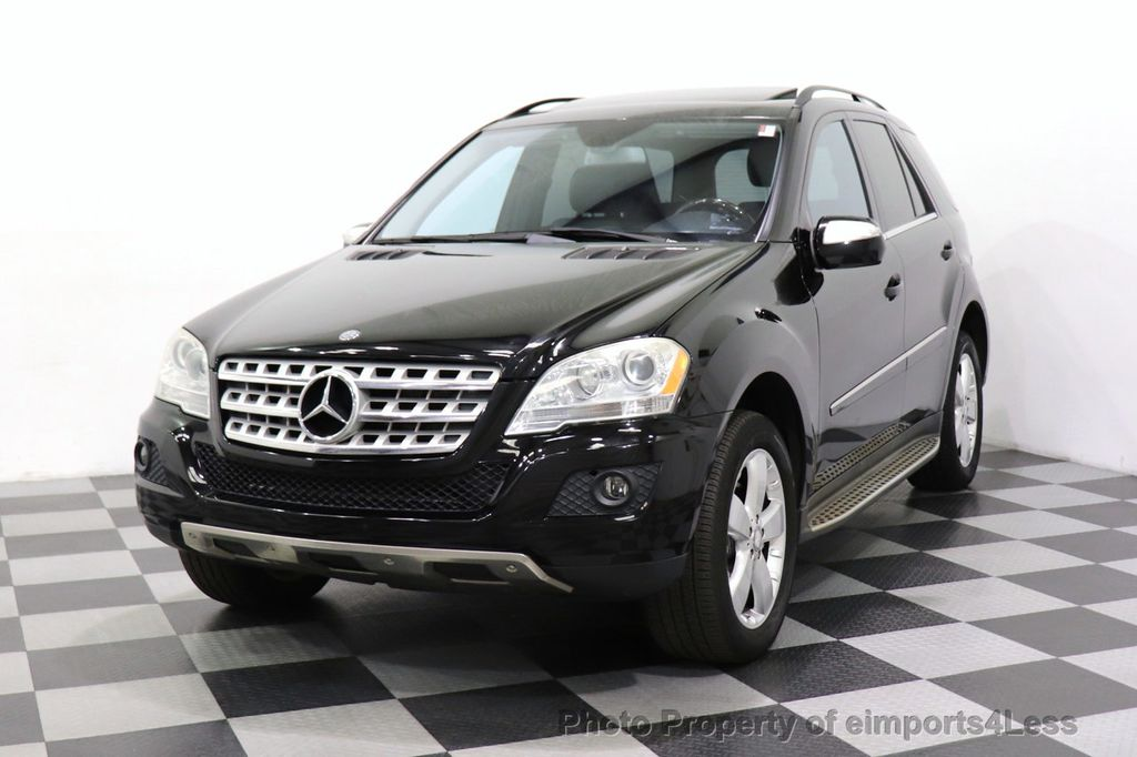 2010 Mercedes-Benz M-Class CERTIFIED ML350 4MATIC AWD NAV CAM MOON ROOF  - 18660585 - 24