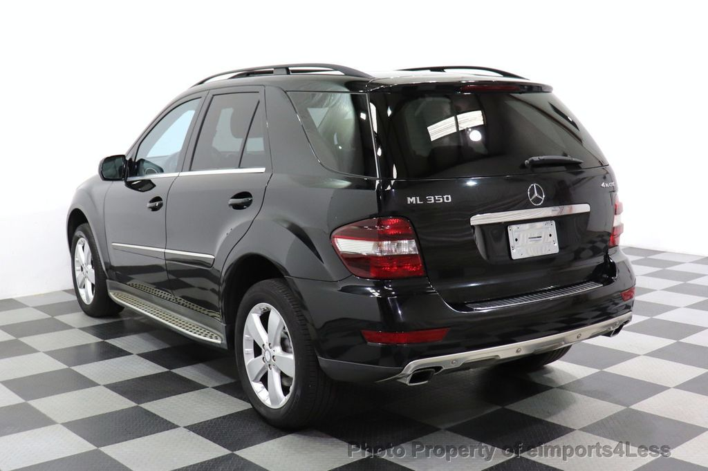 2010 Mercedes-Benz M-Class CERTIFIED ML350 4MATIC AWD NAV CAM MOON ROOF  - 18660585 - 2