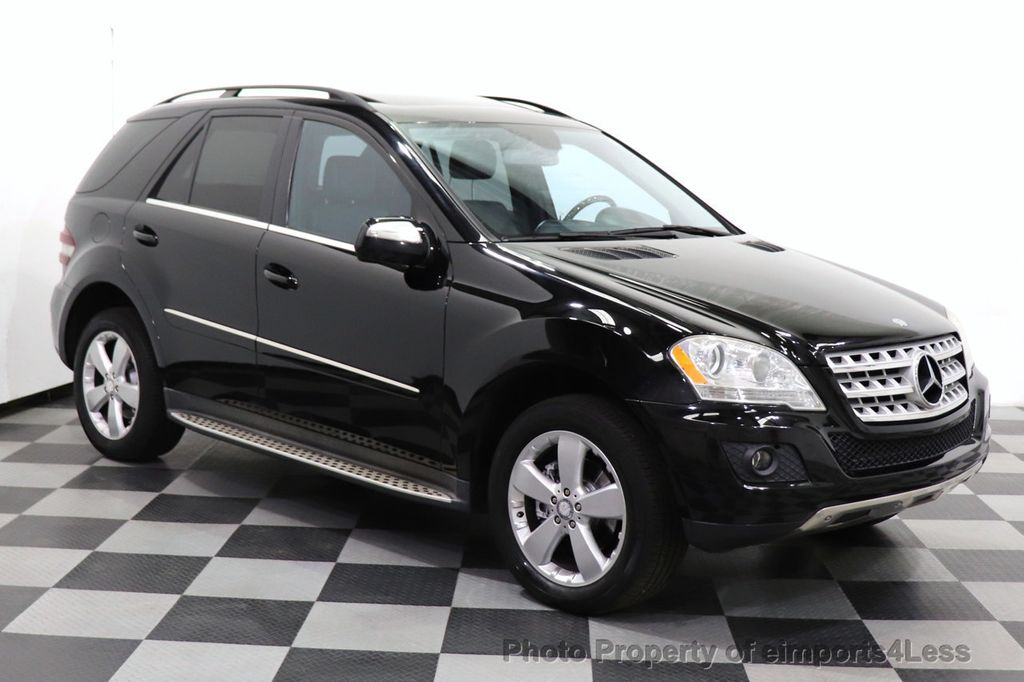 2010 Mercedes-Benz M-Class CERTIFIED ML350 4MATIC AWD NAV CAM MOON ROOF  - 18660585 - 25