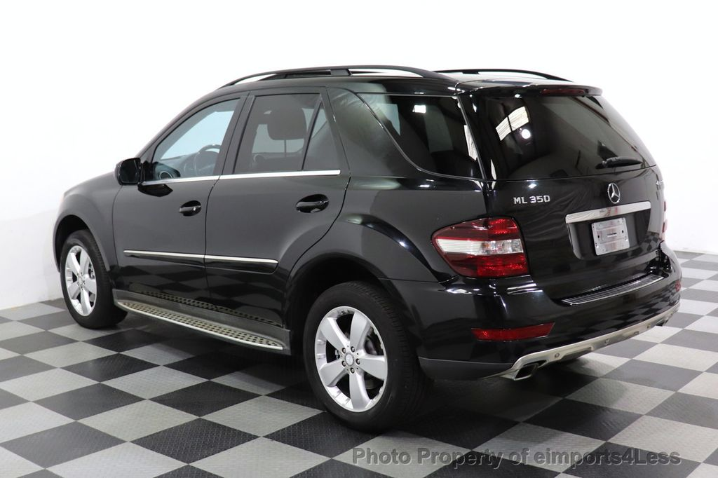 2010 Mercedes-Benz M-Class CERTIFIED ML350 4MATIC AWD NAV CAM MOON ROOF  - 18660585 - 26