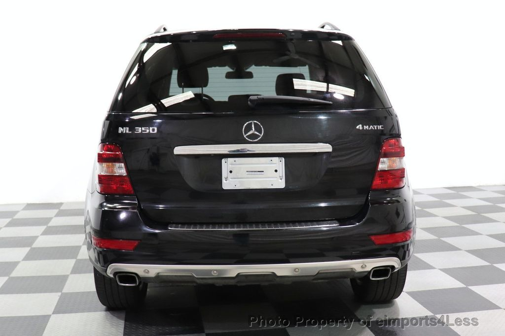 2010 Mercedes-Benz M-Class CERTIFIED ML350 4MATIC AWD NAV CAM MOON ROOF  - 18660585 - 27