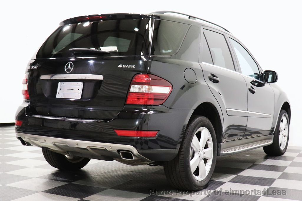 2010 Mercedes-Benz M-Class CERTIFIED ML350 4MATIC AWD NAV CAM MOON ROOF  - 18660585 - 3
