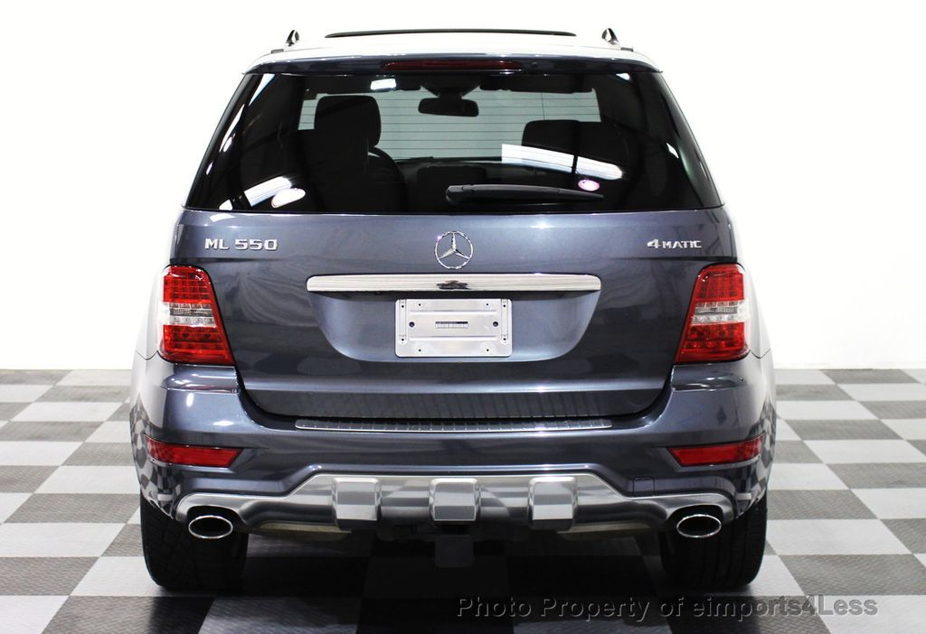 2010 used mercedes benz m class certified ml550 v8 awd suv for Mercedes benz suv m class