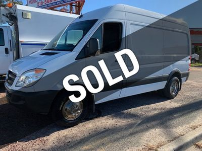 Sprinter Van For Sale >> 2010 Used Mercedes Benz Sprinter 3500 Hi Top Roof Dual Rear Wheels Van 3500 1 Ton Cargo Van Dually At More Than Trucks Serving Massapequa Ny Iid