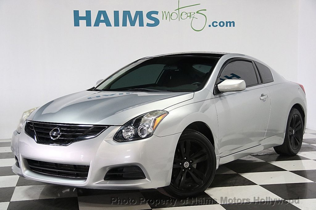 Nissan Fort Lauderdale >> 2010 Used Nissan Altima 2dr Coupe I4 CVT 2.5 S at Haims Motors Serving Fort Lauderdale ...