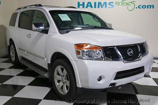 2010 Used Nissan Armada 2wd 4dr Se At Haims Motors Serving Fort