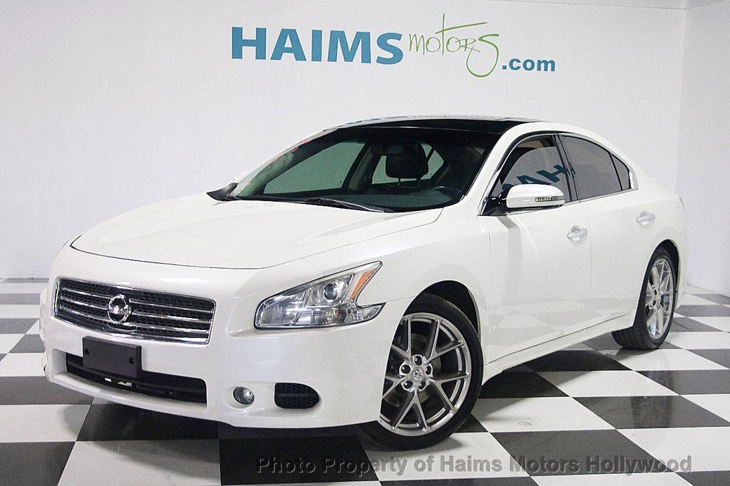 2010 Used Nissan Maxima 4dr Sedan V6 Cvt 35 Sv At Haims Motors