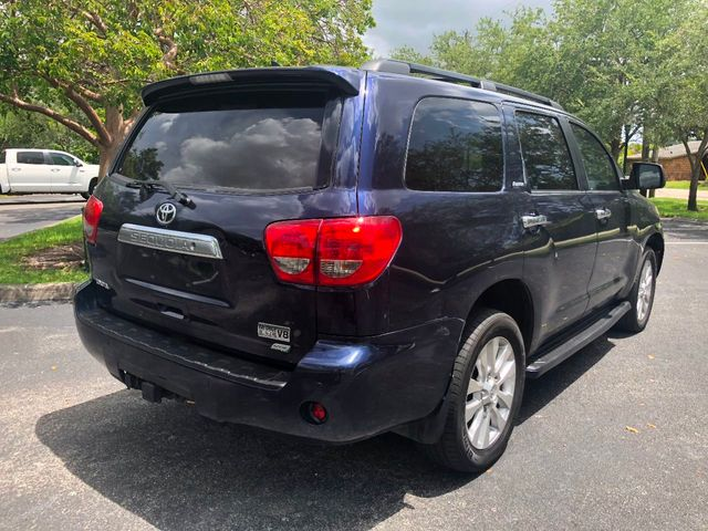 2010 Toyota Sequoia 4WD LV8 FFV 6-Speed Automatic Platinum - Click to see full-size photo viewer