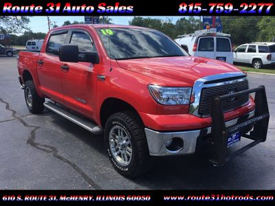 2010 Toyota Tundra CrewMax 5.7L FFV V8 6-Speed Automatic - Click to see full-size photo viewer