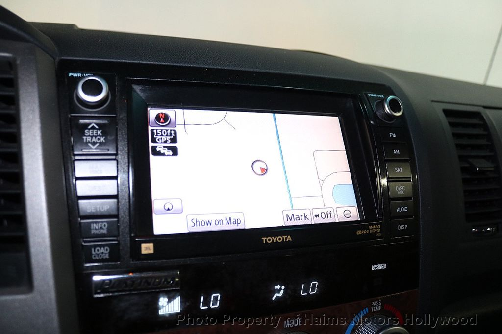 2010 Toyota Tundra CrewMax 5.7L FFV V8 6-Speed Automatic LTD - 17891735 - 23