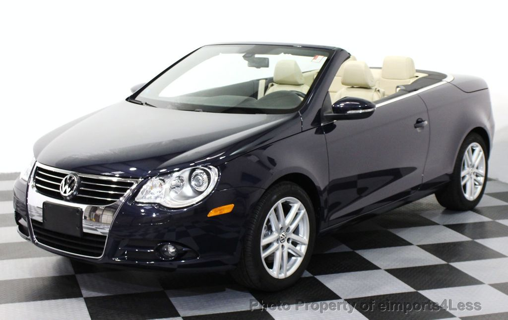 2010 used volkswagen eos certified eos lux model convertible at eimports4less serving. Black Bedroom Furniture Sets. Home Design Ideas