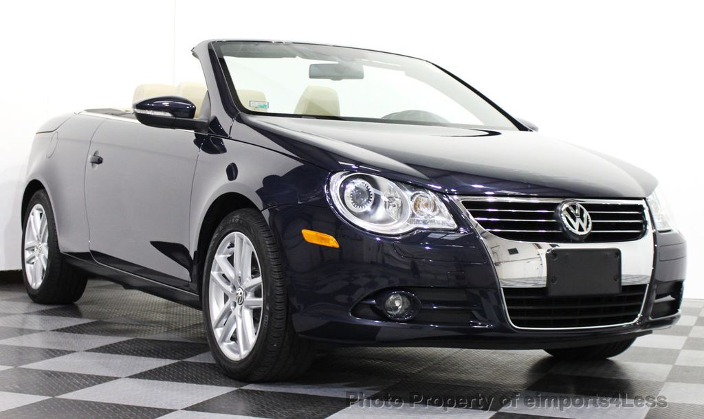 2010 Used Volkswagen Eos CERTIFIED EOS 2.0t LUX MODEL CONVERTIBLE at eimports4Less Serving ...