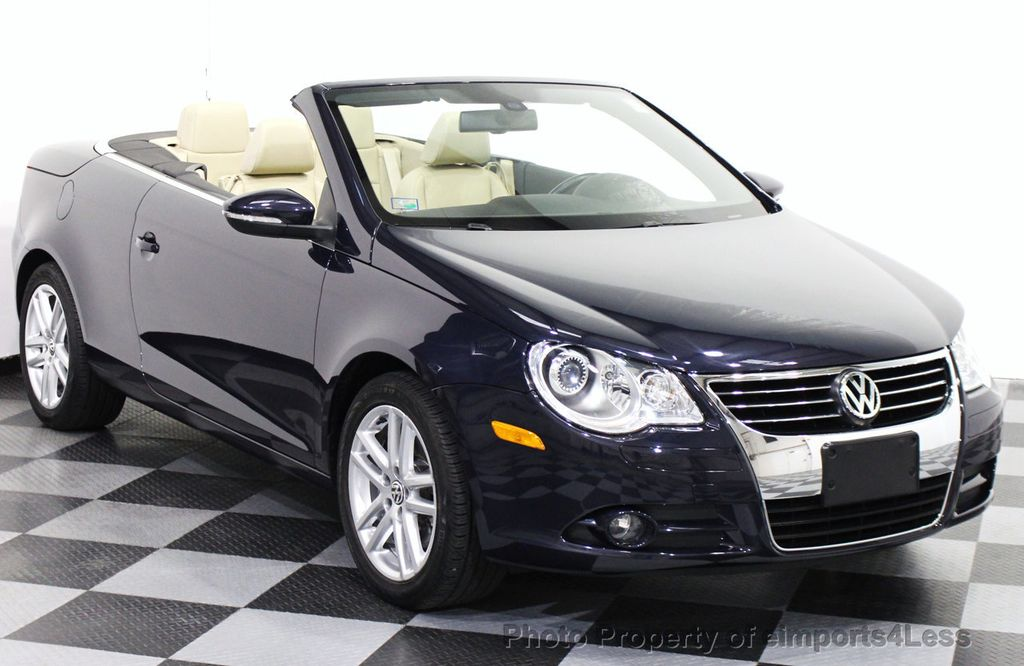 2010 Used Volkswagen Eos Certified Eos 2 0t Lux Model Convertible At Eimports4less Serving