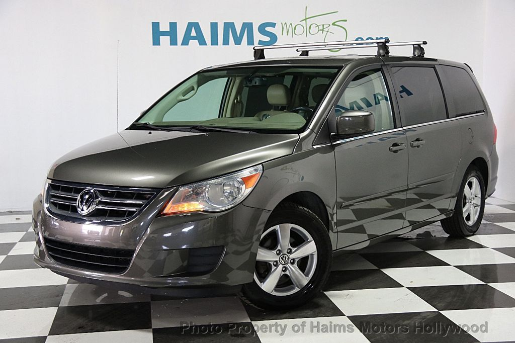 2010 used volkswagen routan sel at haims motors serving fort lauderdale hollywood miami fl. Black Bedroom Furniture Sets. Home Design Ideas