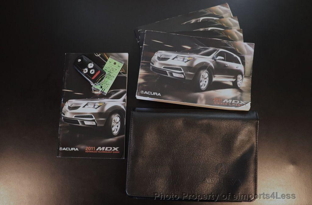 2011 Acura MDX CERTIFIED MDX 7-PASSENGER AWD TECH XENON CAM NAV - 18406688 - 44