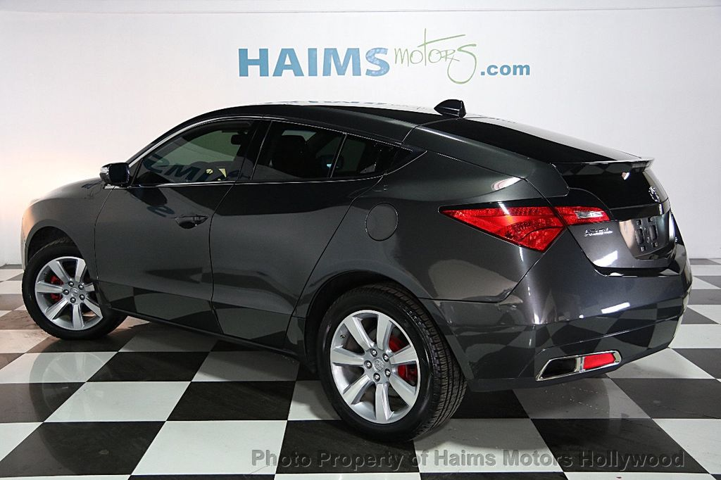 Used Acura Zdx Awd Tech Pkg At Haims Motors Serving Fort