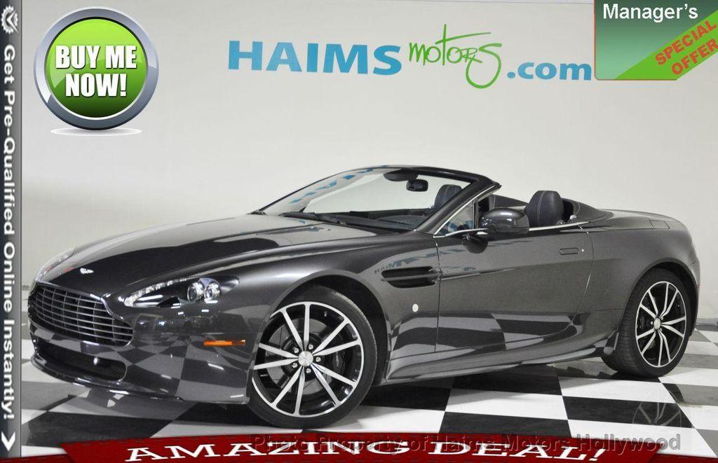 2011 Used Aston Martin V8 Vantage 2dr Convertible Sportshift N420 At